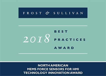 NextInput Earns Frost & Sullivan's 2018 Technology Innovation Award